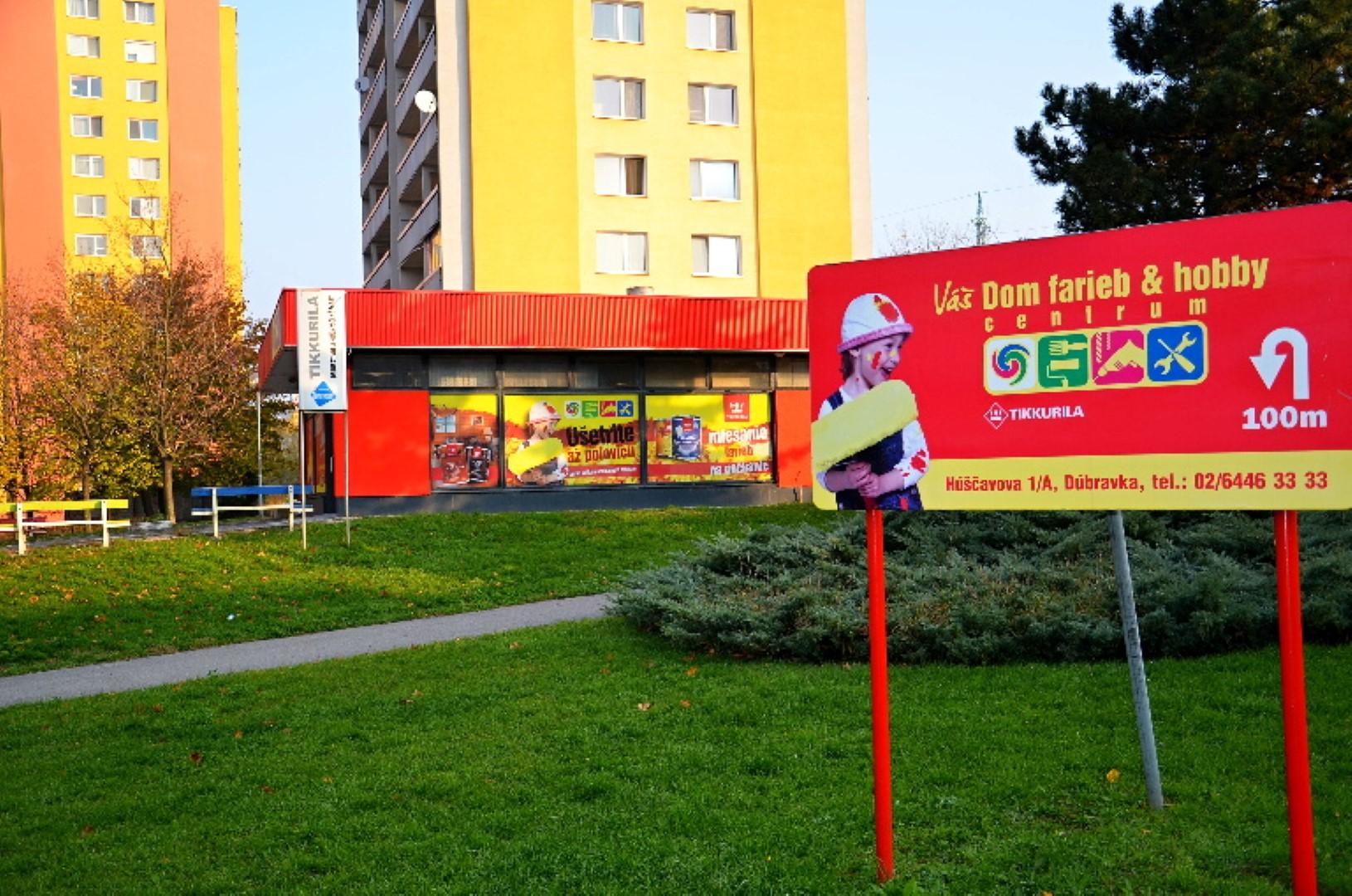 Váš dom farieb & hobby centrum Bratislava – Dúbravka